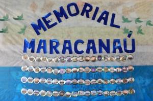 Alunos da Escola Comissário Francisco Barbosa fazem homenagem ao aniversário de Maracanaú