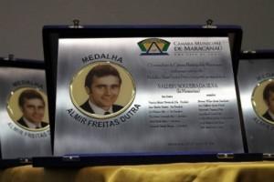 Câmara Municipal entrega Medalha Almir Dutra