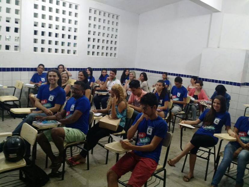 Secretaria de Juventude inicia aulas do Pré-Enem 2019