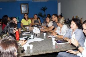 Comissão Organizadora realiza reunião de planejamento sobre a Semana do Bebê 2016