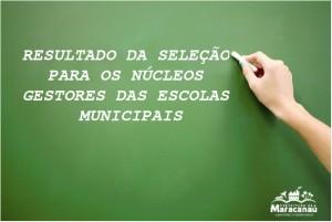Read more about the article Secretaria de Educação divulga resultado da 1ª fase da seleção de Núcleos Gestores das Escolas Municipais
