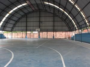Read more about the article Escola José de Borba Vasconcelos recebe Quadra Poliesportiva Coberta