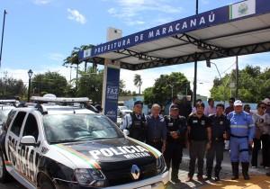 Maracanaú recebe novas viaturas para as Polícias Civil e Militar
