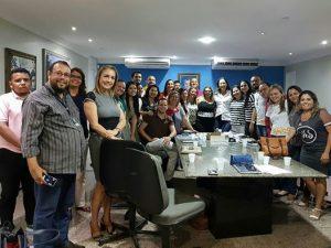 Comissão Organizadora realiza reunião de planejamento sobre a Semana do Bebê 2017