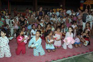 Semana do Bebê leva diversão para crianças do Bairro Jari