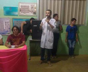 Secretaria da Saúde realiza ação do Dezembro Vermelho na escola Martins Filho