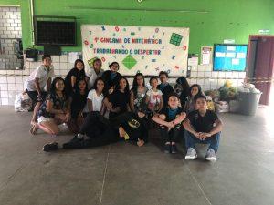Estudantes da Escola Tancredo Neves participam da I Gincana de Matemática e arrecadam mais de uma tonelada em alimentos