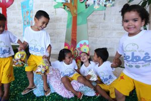 Fundação Terra recebe ação da Semana do Bebê 2018