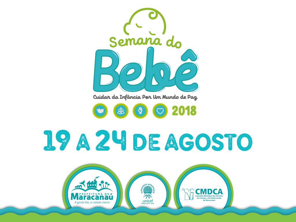 Semana do Bebê 2018 começa neste domingo, 19 de agosto