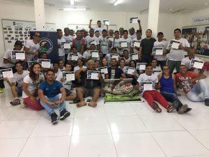 Curso para treinadores de futebol e futsal é realizado em Maracanaú