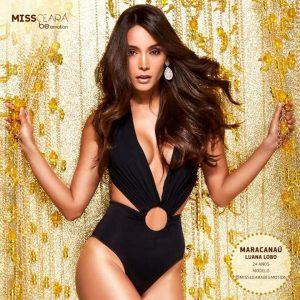 Miss Maracanaú Luana Lobo disputa título Miss Ceará 2019