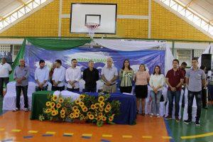 Prefeitura inaugura 29ª Quadra Poliesportiva em Escola Municipal