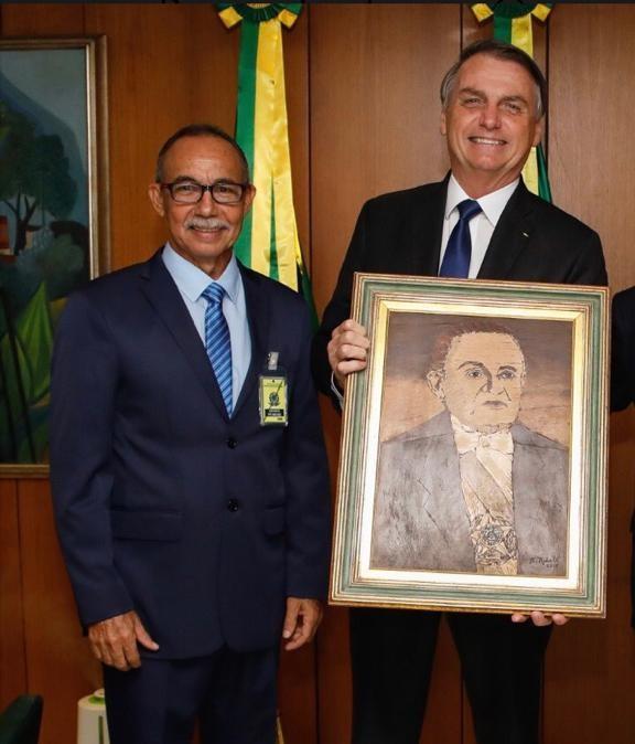 Secretário de Defesa Social é recebido pelo Presidente Jair Bolsonaro, em Brasília