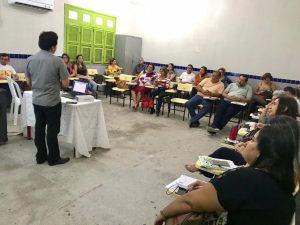 Secretaria de Educação promove encontro com gestores das escolas municipais por ADL's