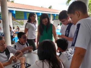 Estudantes participam da Semana da Matemática nas Escolas Municipais de Maracanaú