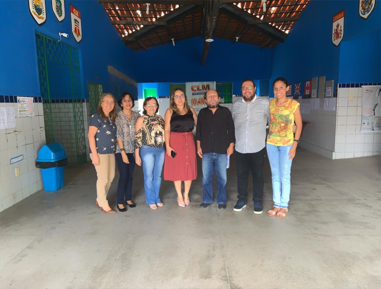 Polo UAB Maracanaú recebe equipe técnica da Secretaria de Ciências, Tecnologia e Educação Superior do Ceará