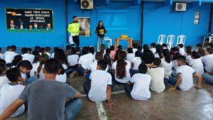 Demutran trabalha projeto de educação no trânsito em escola municipal