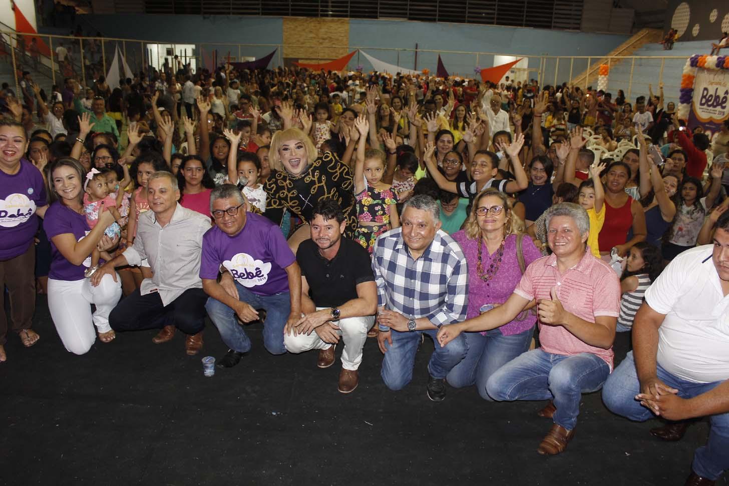 Maracanaú encerra a Semana do Bebê na Arena Carlão, na Pajuçara