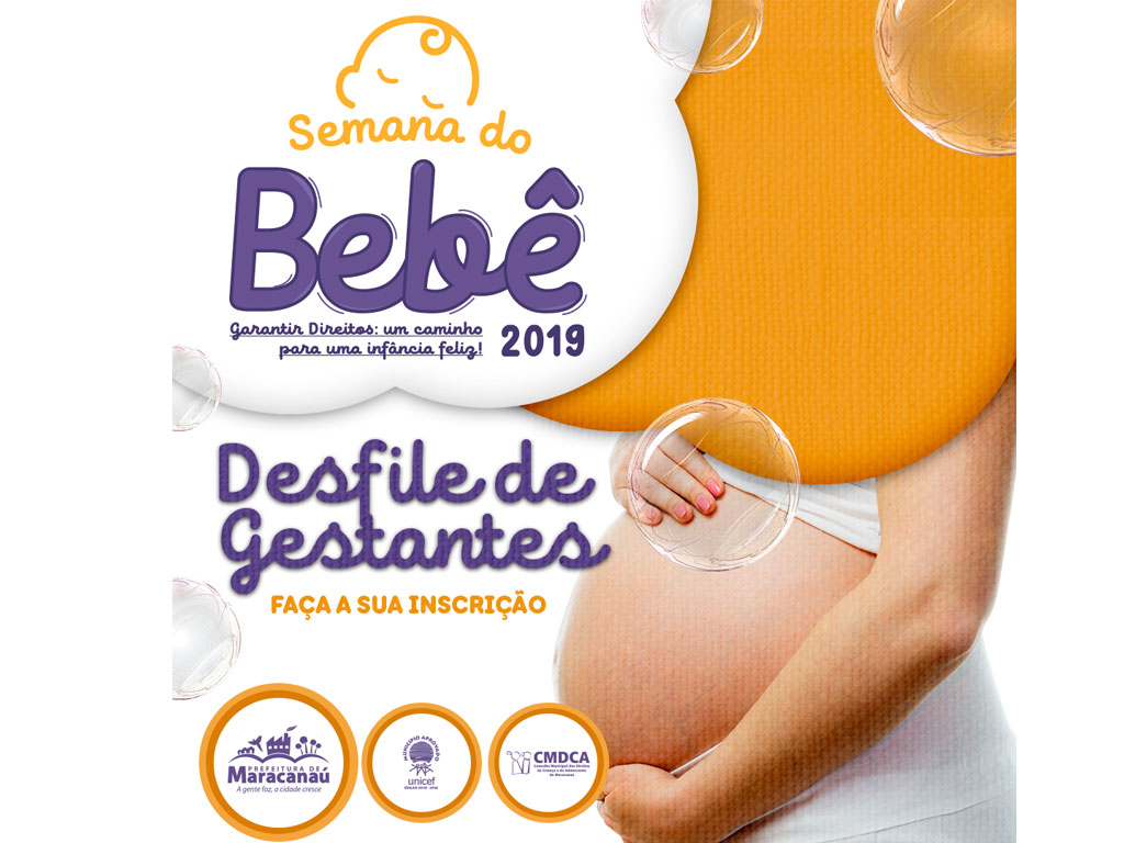 Semana do Bebê abre inscrições para Desfile de Gestantes