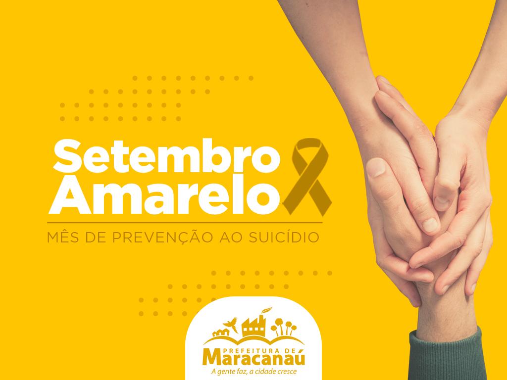 Maracanaú realiza Ação de Prevenção ao Suicídio na Praça da Estação