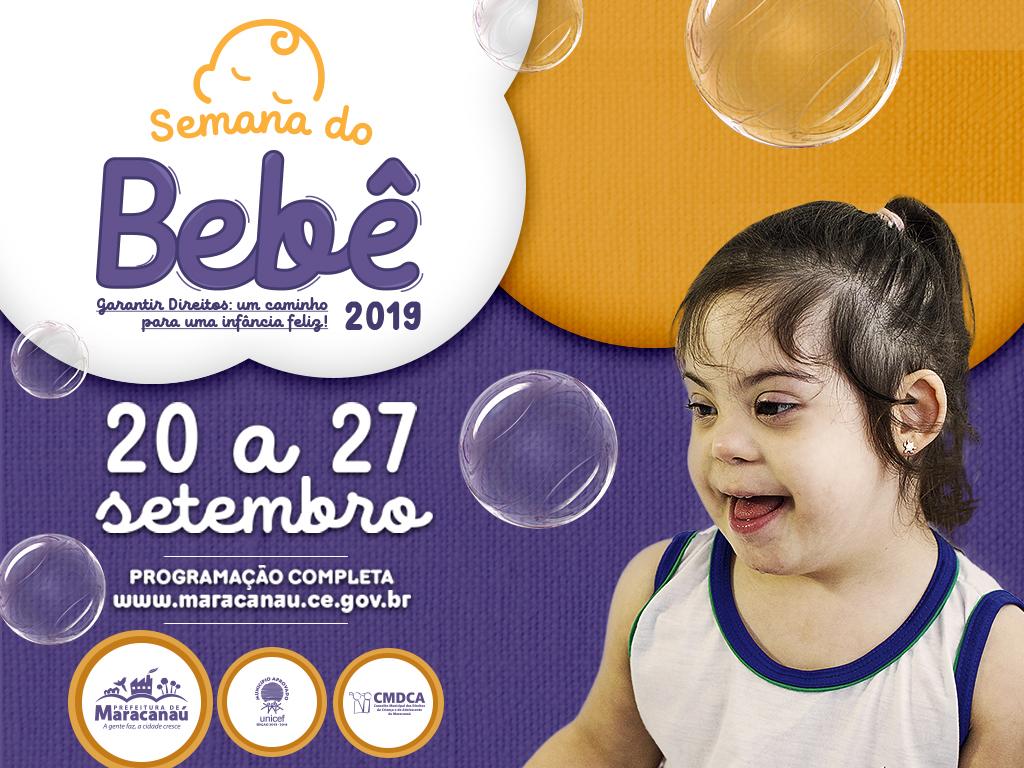 Semana do Bebê 2019 começa nesta sexta-feira, 20 de setembro