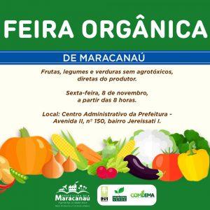 Semam realiza mais uma edição da Feira de Alimentos Orgânicos