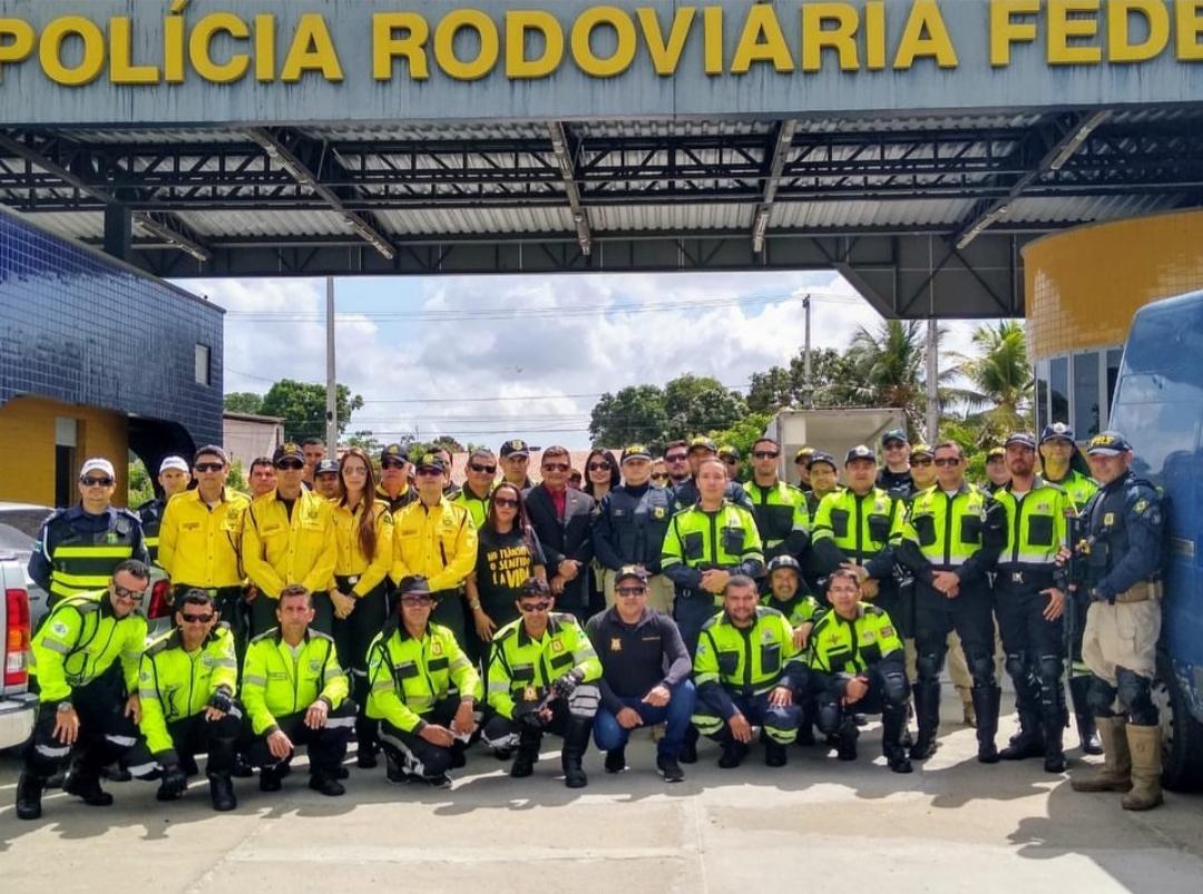 Demutran participa da Operação Rodovia Integrada em conjunto com a PRF