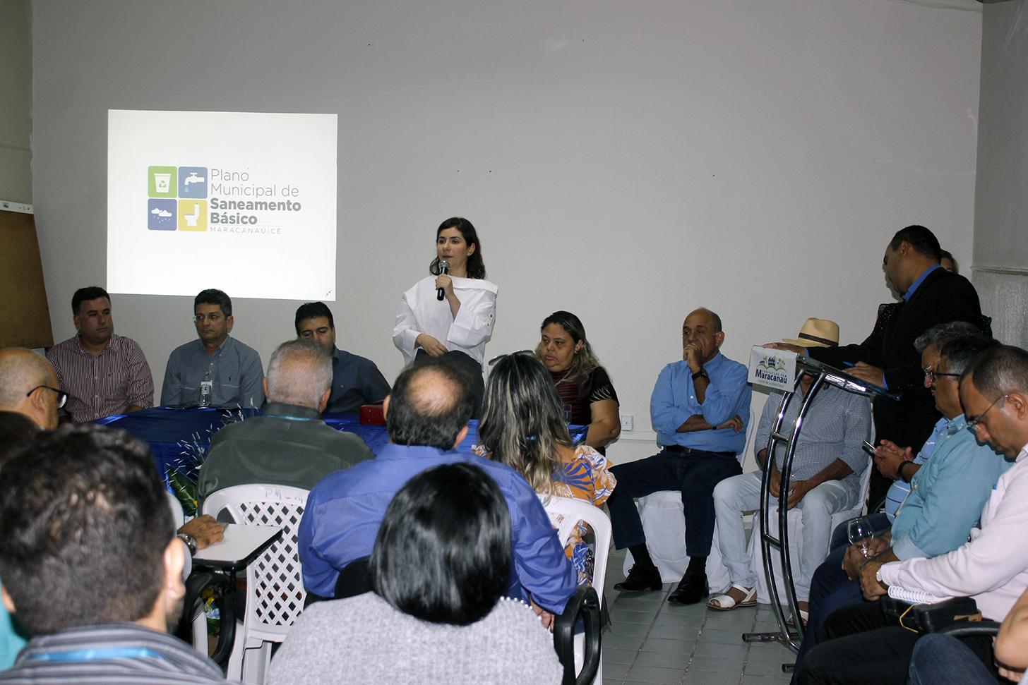 You are currently viewing Prefeitura e Cagece realizam audiência pública para apresentar o Plano Municipal de Saneamento Básico