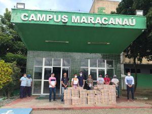 Maracanaú recebe doação de alimentos