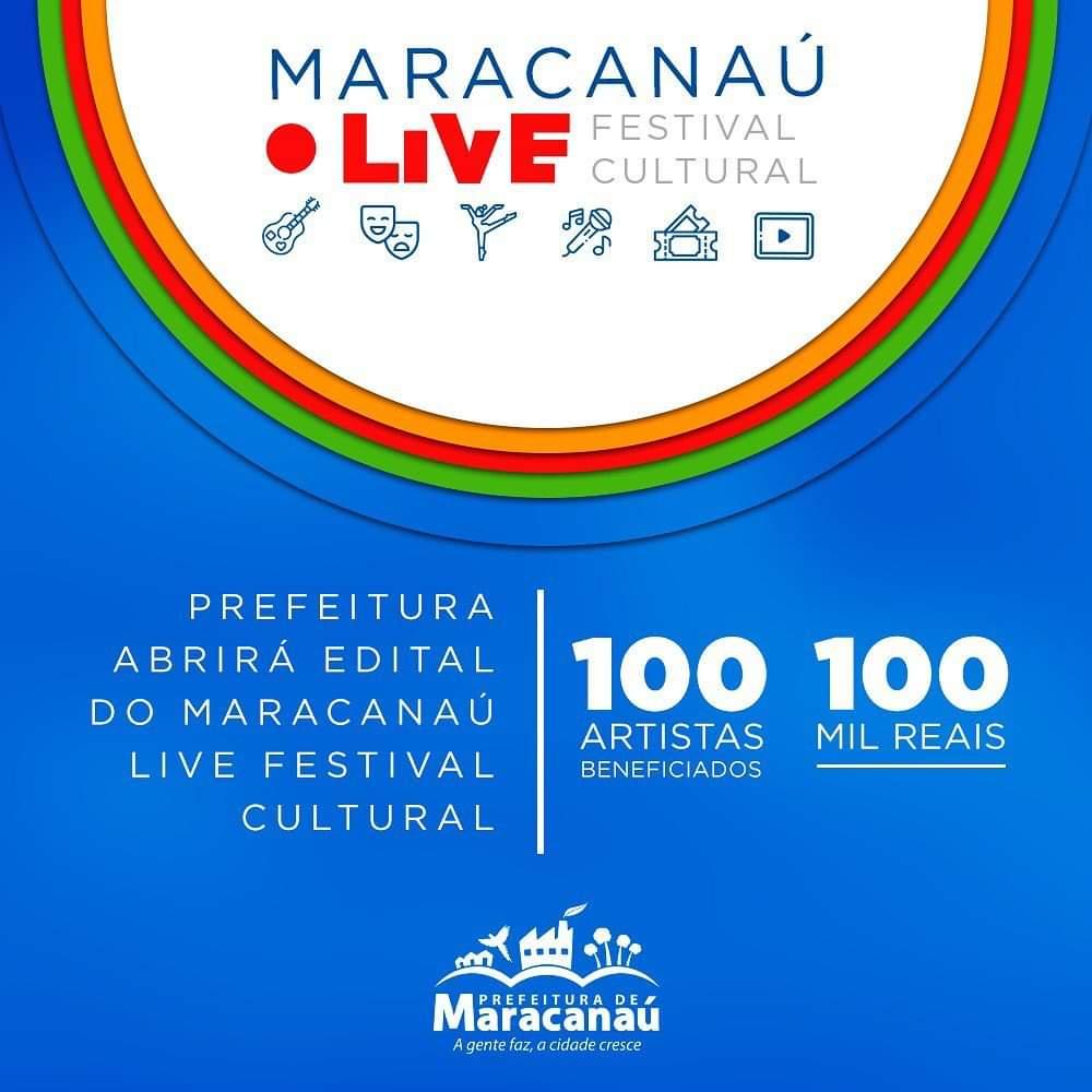 Prefeitura anuncia lançamento do Maracanaú Live Festival Cultural
