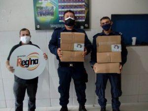 Read more about the article Coronavírus: Pole Alimentos (Regina) doa 1.500 máscaras para Prefeitura