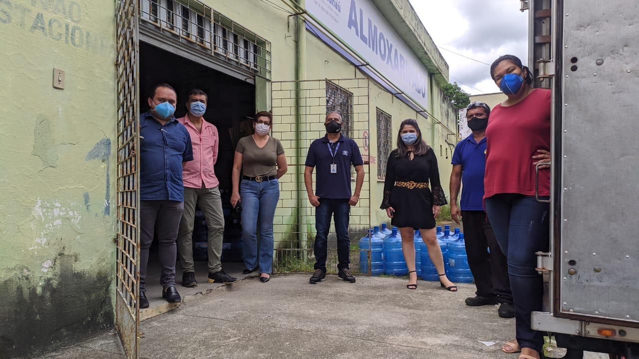 Cuida Maracanaú: CANPAK faz doação de mil litros de hipoclorito de sódio para enfrentamento ao coronavírus (Covid-19)