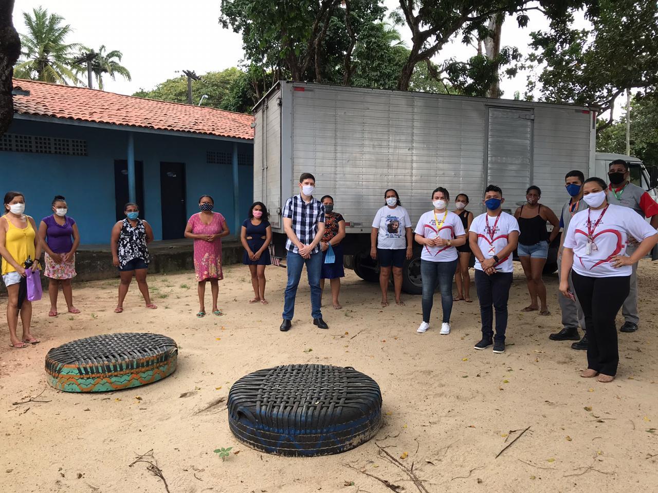 Banco de alimentos de Maracanaú recebeu doações de cestas básicas