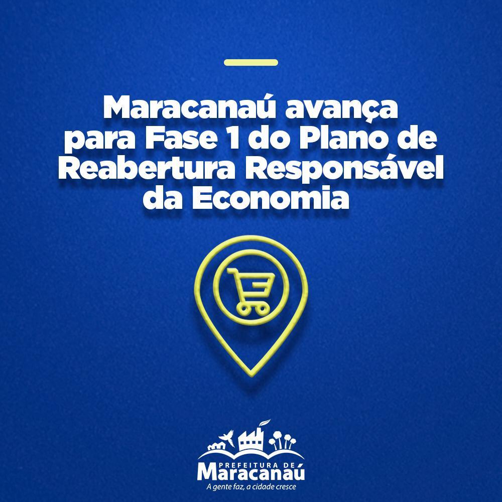 Prefeitura publica novo decreto e Maracanaú avança para Fase 1 do Plano de Retomada Gradual e Responsável da Economia