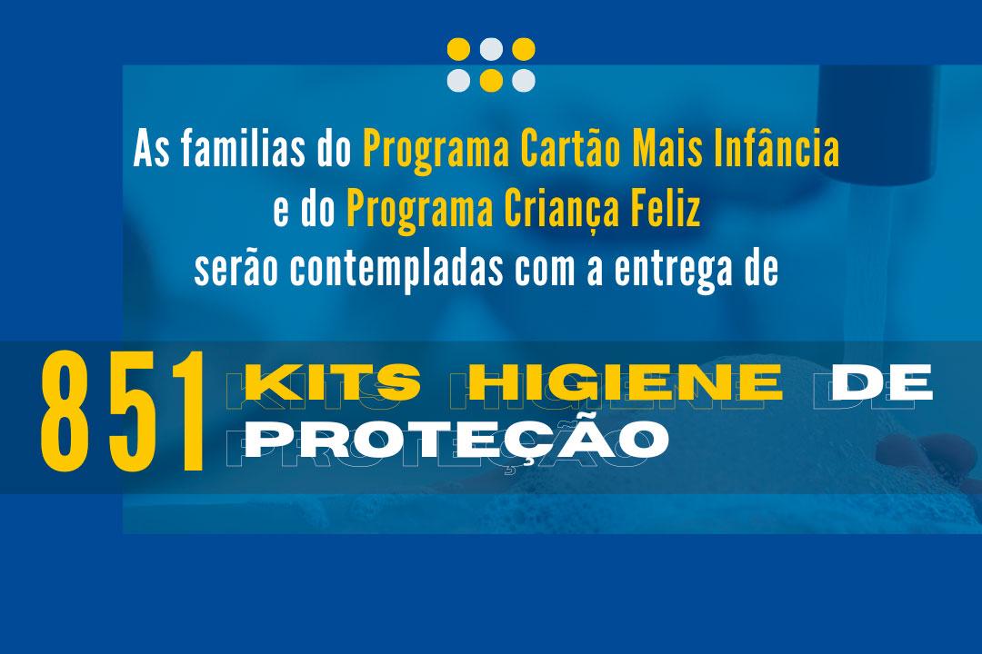 Maracanaú irá entregar 851 Kits de higiene de proteção
