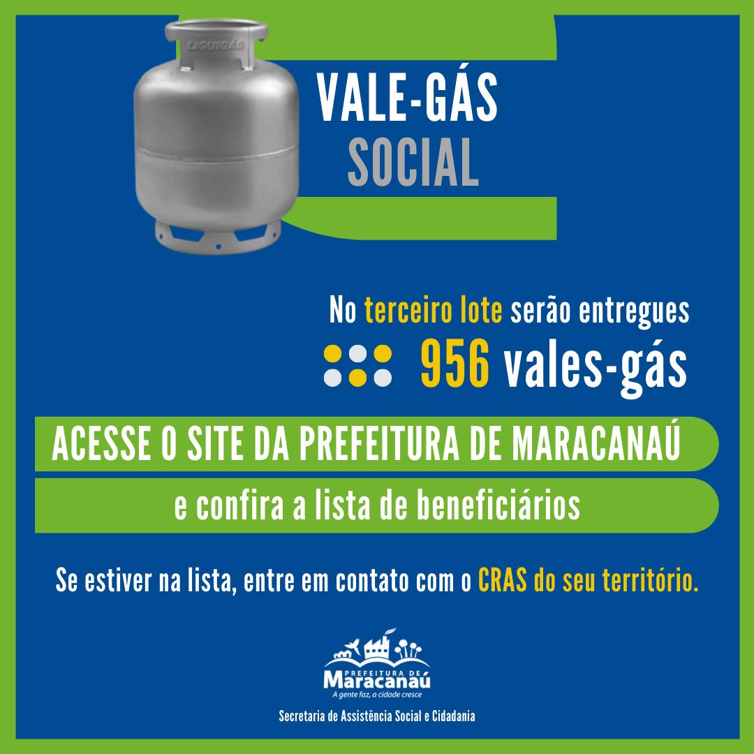 Sasc começa a distribuição do 3º lote do Vale Gás