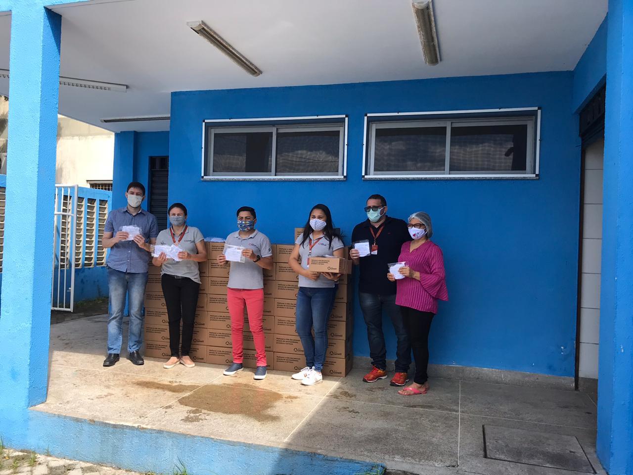Coronavírus: Lunelli doa mais de 10 mil máscaras para prefeitura