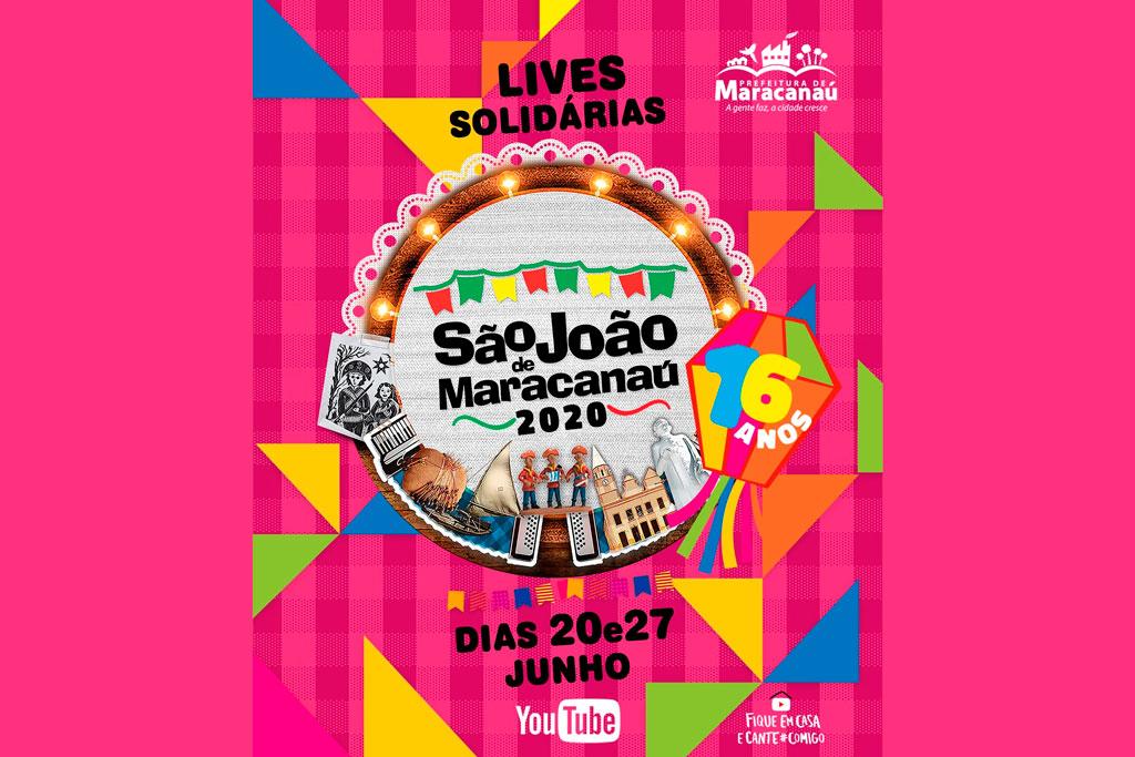 You are currently viewing São João de Maracanaú 2020 será em forma de Lives Solidárias, feito 100% com recursos privados e voltado para arrecadar doações