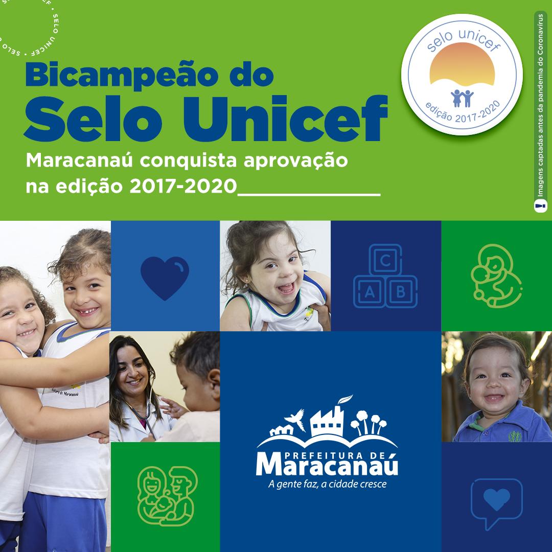 Read more about the article Maracanaú é Bicampeão do Selo Unicef – o maior reconhecimento internacional de eficácia das políticas públicas para crianças e adolescentes