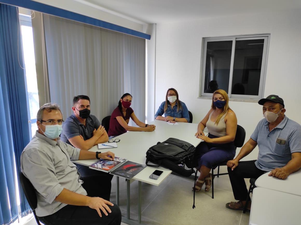 Secretário de Cultura e Turismo, Daniel Sidrim realiza reunião de planejamento