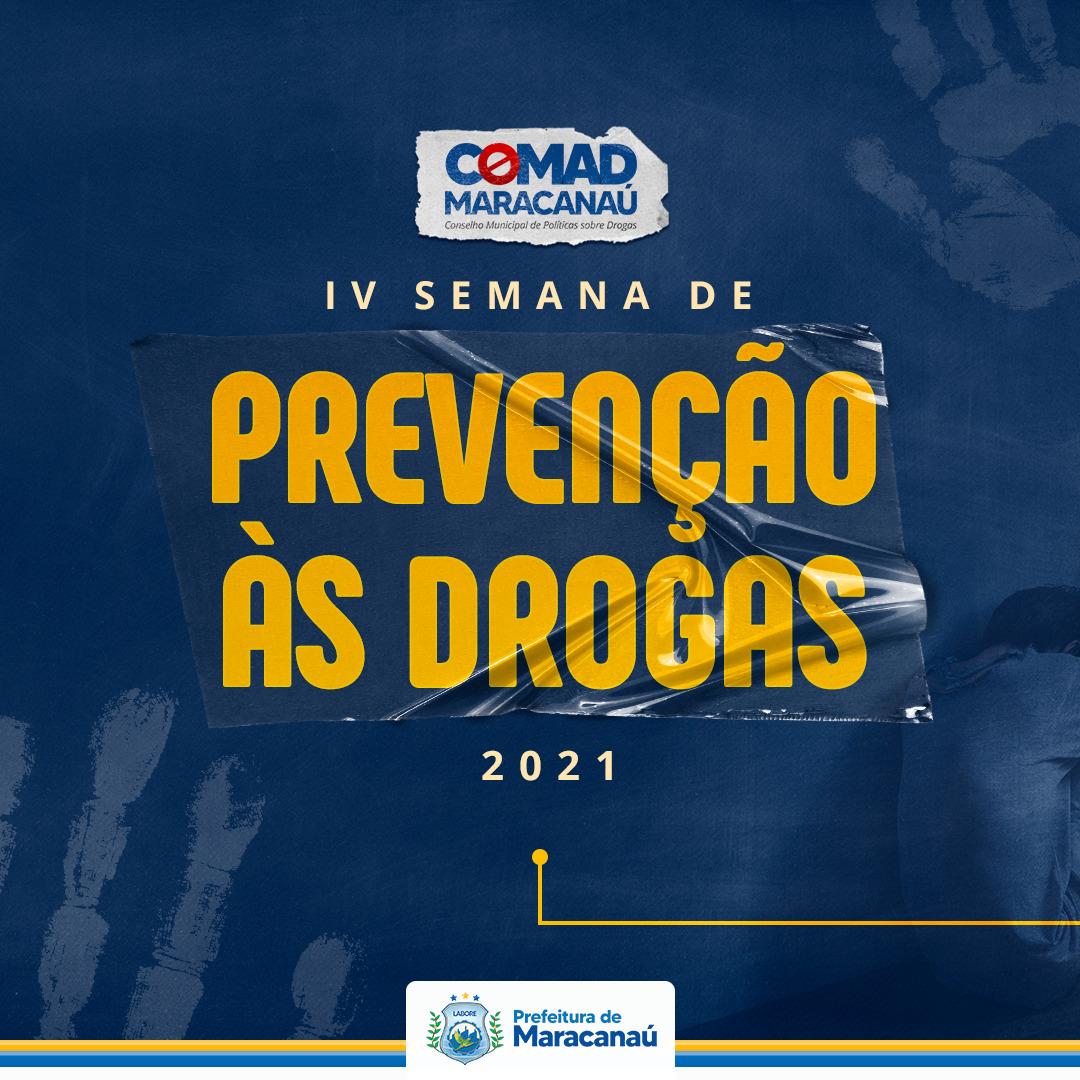 You are currently viewing IV Semana Municipal de Prevenção às Drogas começa na próxima quarta-feira, 23