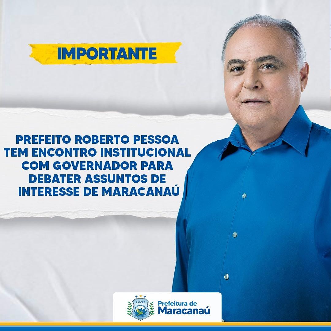 Read more about the article Prefeito Roberto Pessoa tem encontro institucional com Governador para debater assuntos de interesse do Maracanaú
