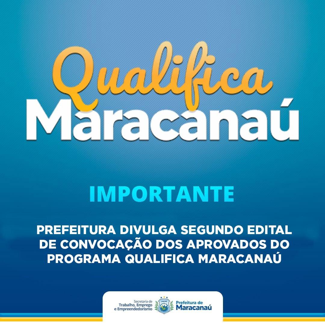 Read more about the article Prefeitura divulga segundo edital de convocação dos aprovados do Programa Qualifica Maracanaú